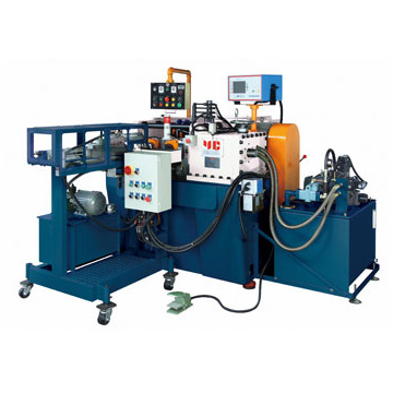 YC-530 with Hydraulic Type Auto Feeder for Double Thread