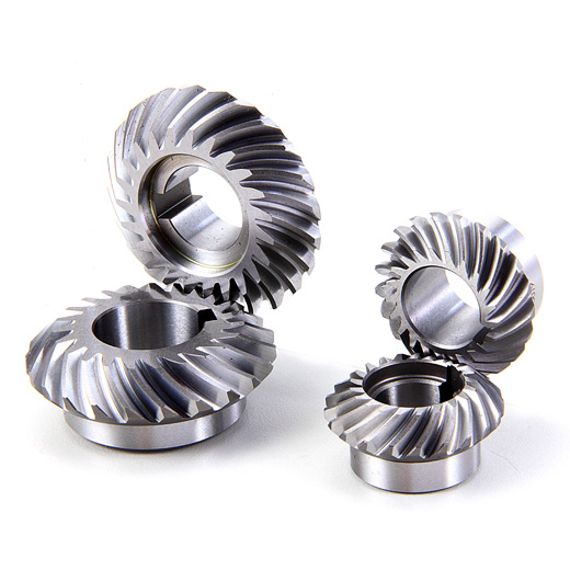 Spiral Bevel Gear : Spur gear and helical bevel spiral