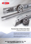 Precision Spur Helical Gear Rack